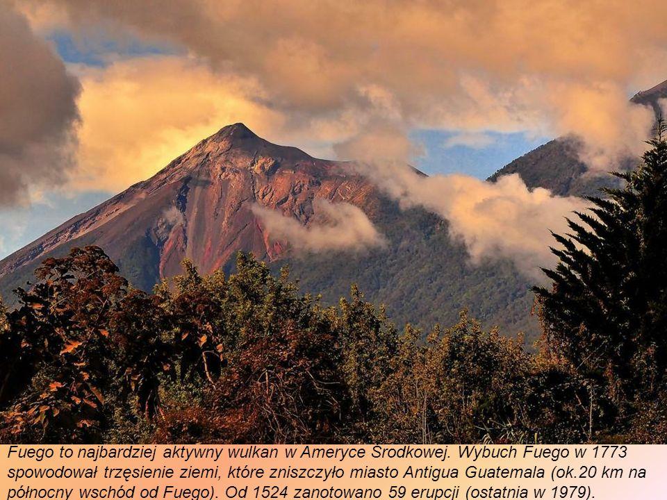 Volcán de Fuego (