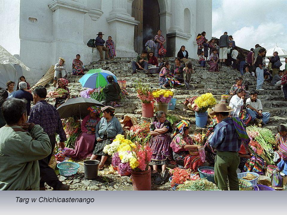 Cmentarz w Chichicastenango