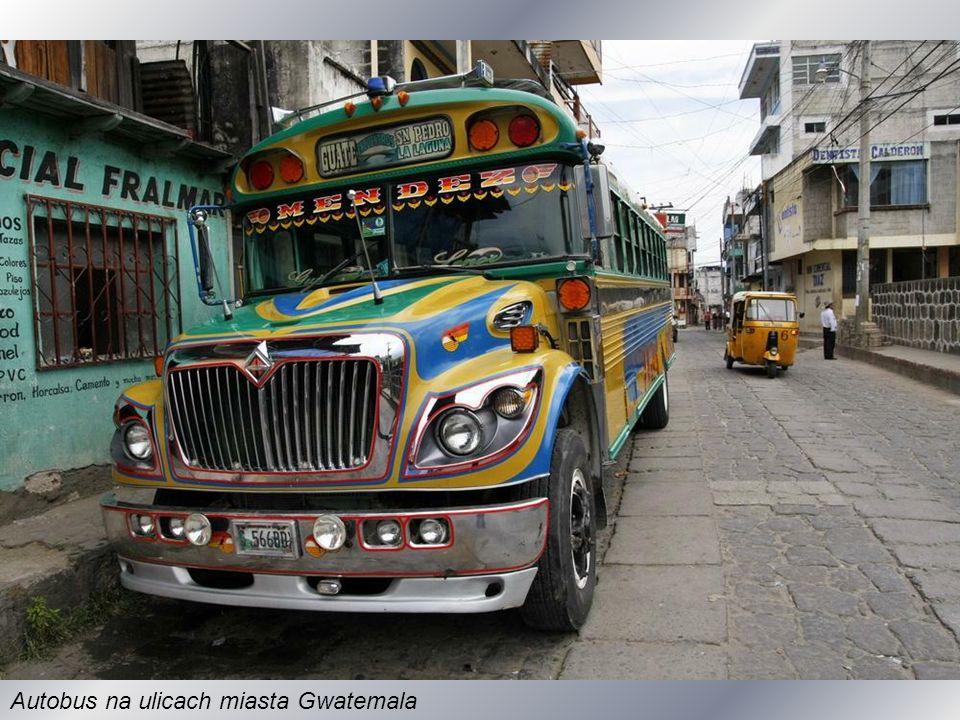 Główny plac w stolicy Gwatemali