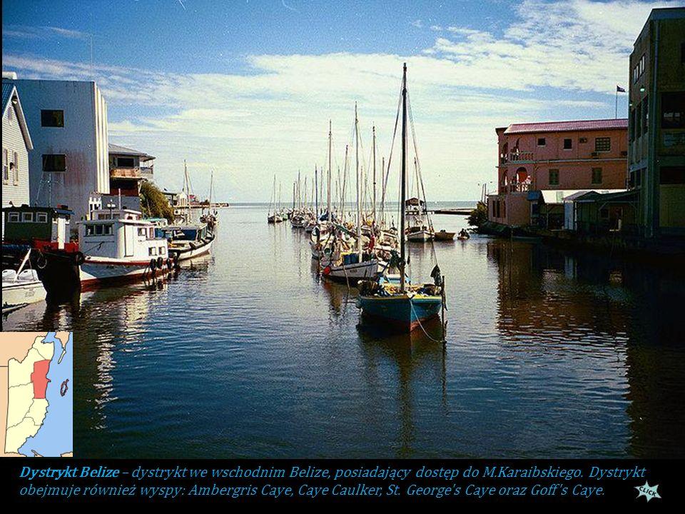 Belize podzielone jest na 6 dystryktów: 1.Belize 2.Cayo 3.Corozal 4.Orange Walk 5.Stann Creek 6.Toledo Flaga Belize została przyjęta 21 września 1981