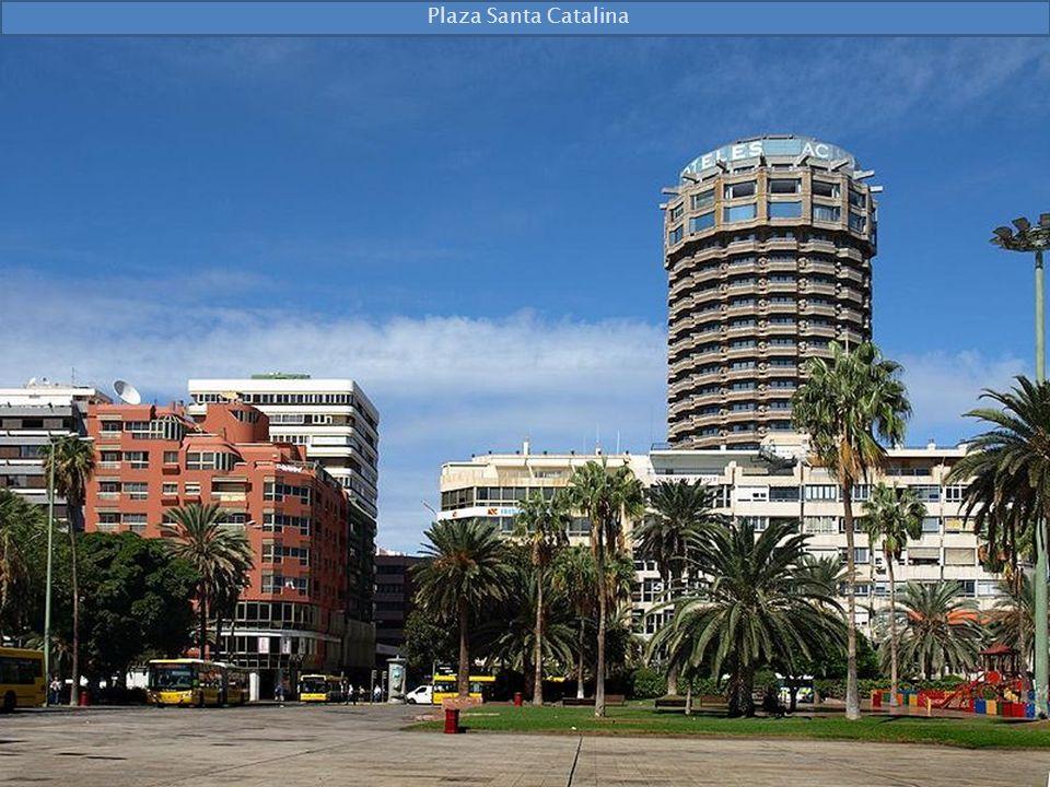 Najstarszy w Las Palmas hotel Santa Catalina z 1890 r.
