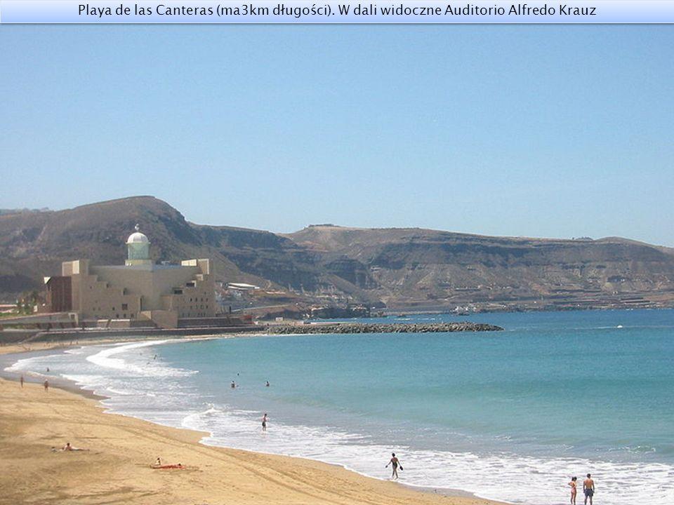 Promenada nadmorska Playa de las Canteras