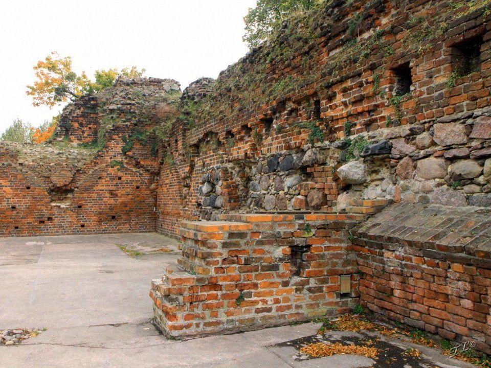 Ruiny jednego z najstarszych zamków krzyżackich na ziemi chełmińskiej. Budowę rozpoczęto w połowie XIII wieku. Był siedzibą komtura. Przez okres swego