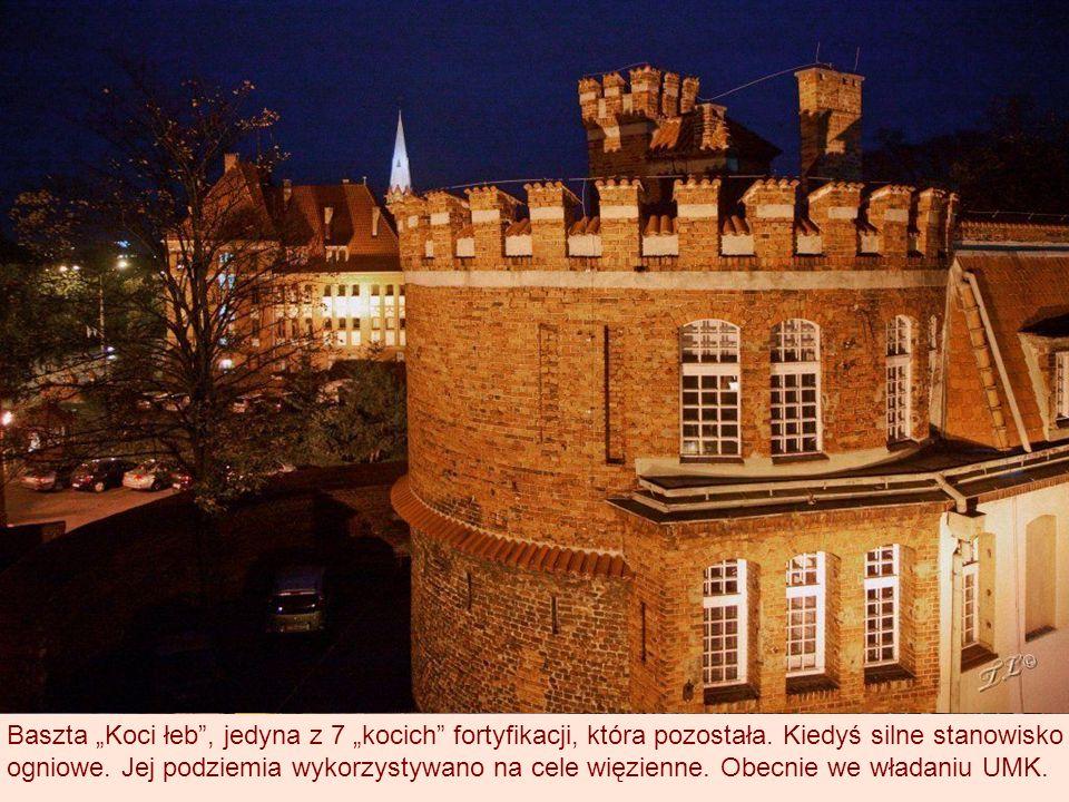 Baszta Koci łeb, jedyna z 7 kocich fortyfikacji, która pozostała.