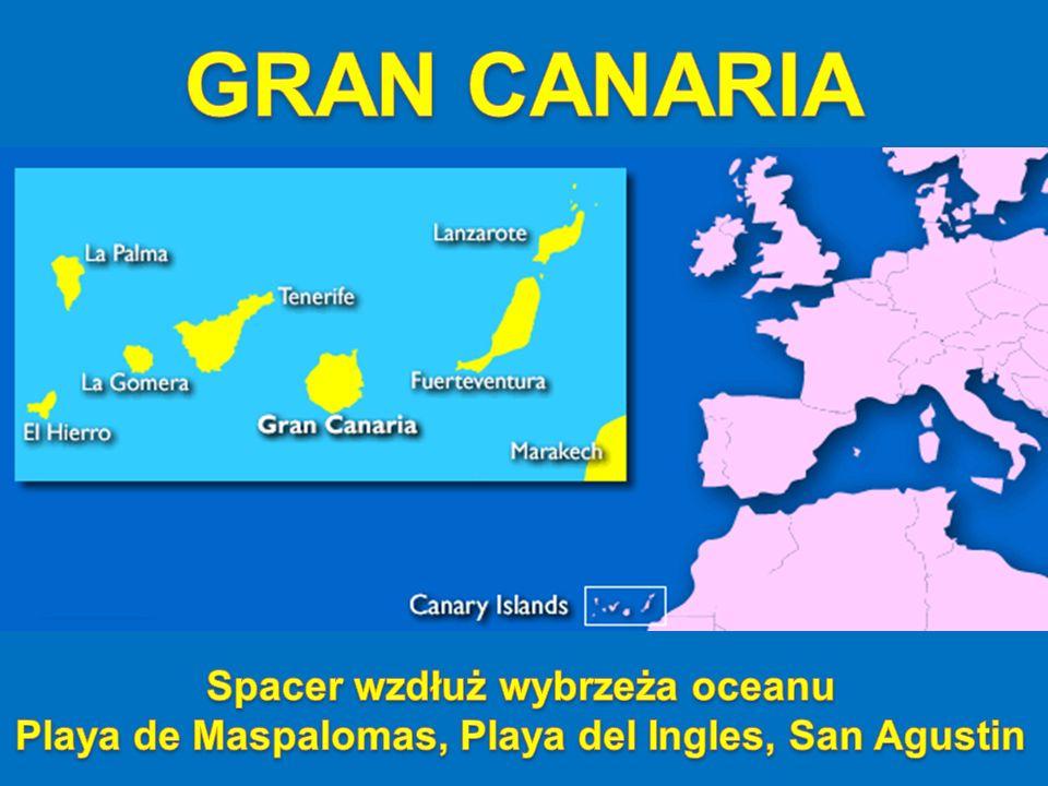 Mostek łączący Playa del Ingles i San Agustin