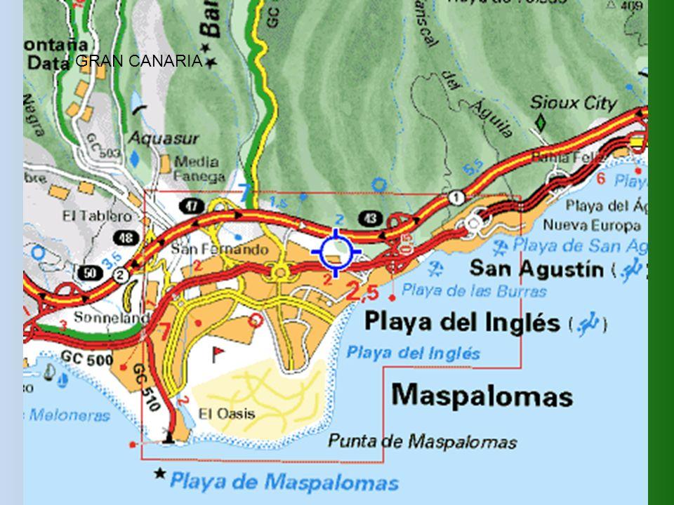 San Agustin miejscowość turystyczna położona na wschód od Maspalomas i Playa del Ingles.