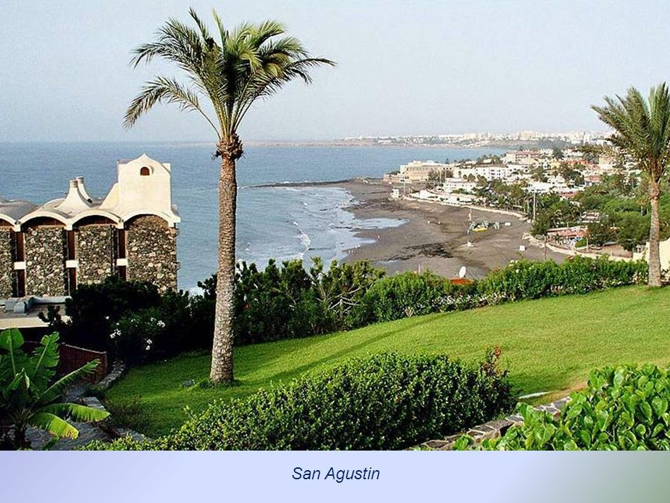 San Agustin, promenada nad oceanem