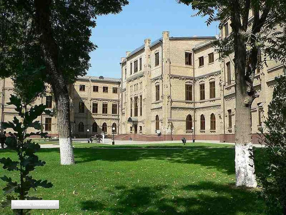 Taszkent, Uniwersytet