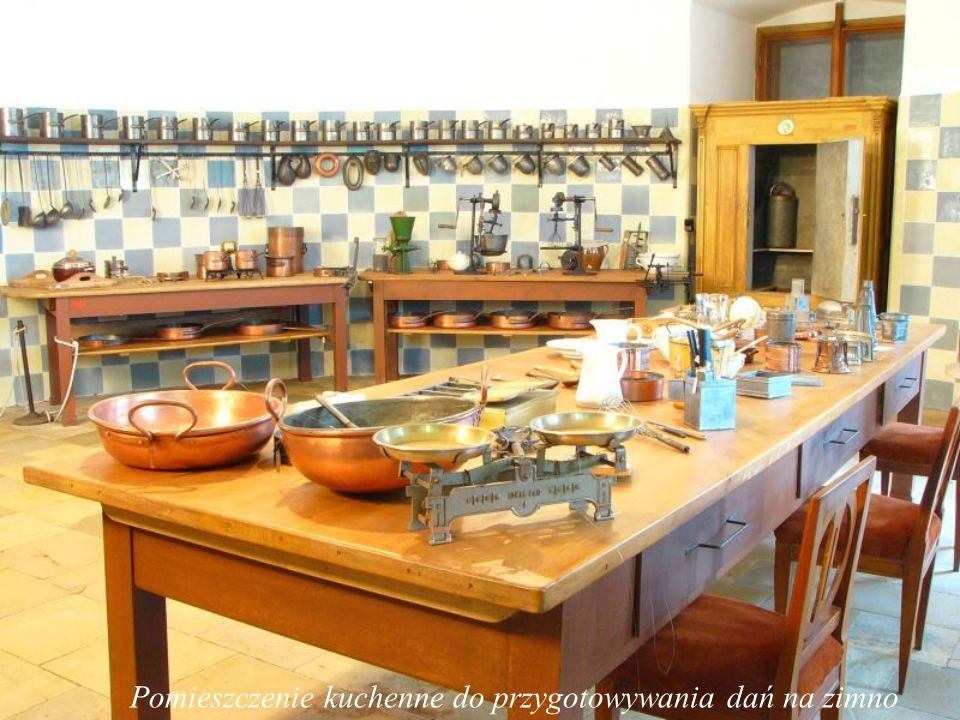 Pomieszczenie kuchenne do przygotowywania wypieków