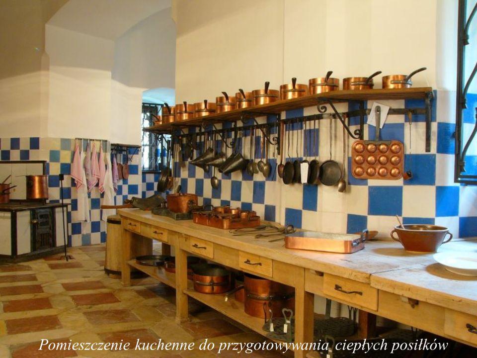 Pomieszczenie kuchenne do przygotowywania dań na zimno