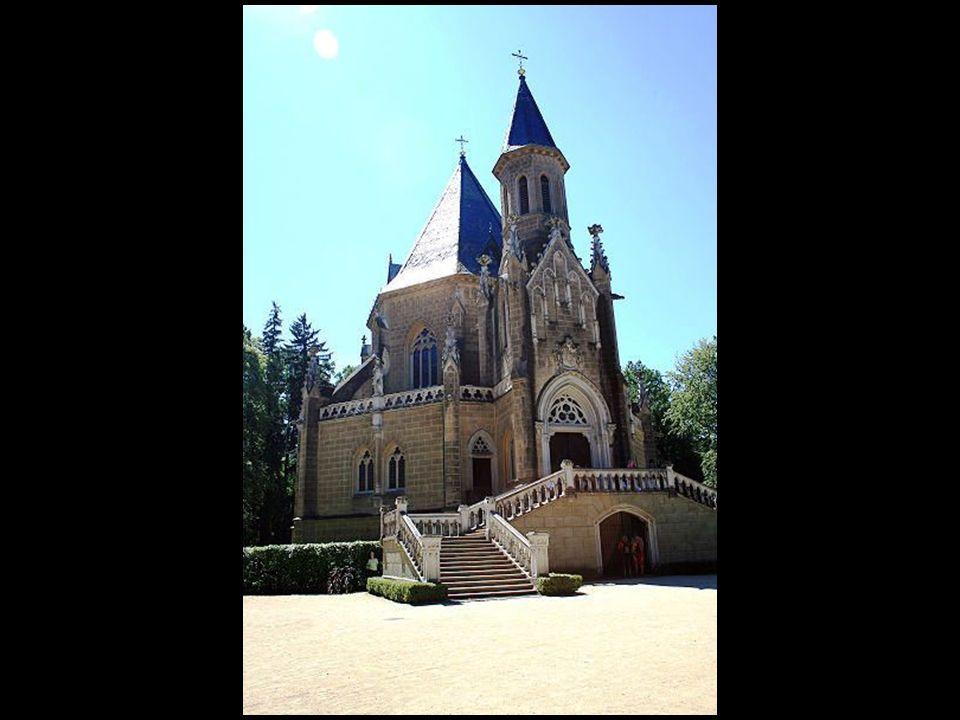 Tu pochowana jest rodzina schwarzenbergów - Domanin w pobliżu Trebon