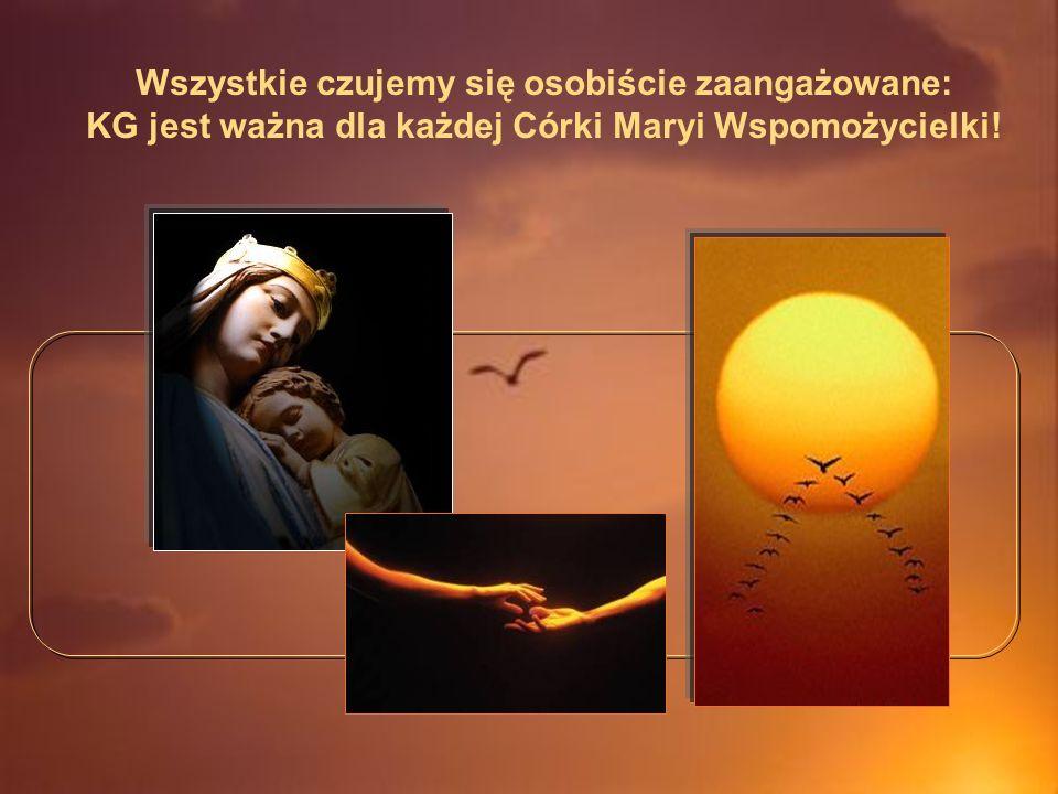 Wszystkie czujemy się osobiście zaangażowane: KG jest ważna dla każdej Córki Maryi Wspomożycielki!