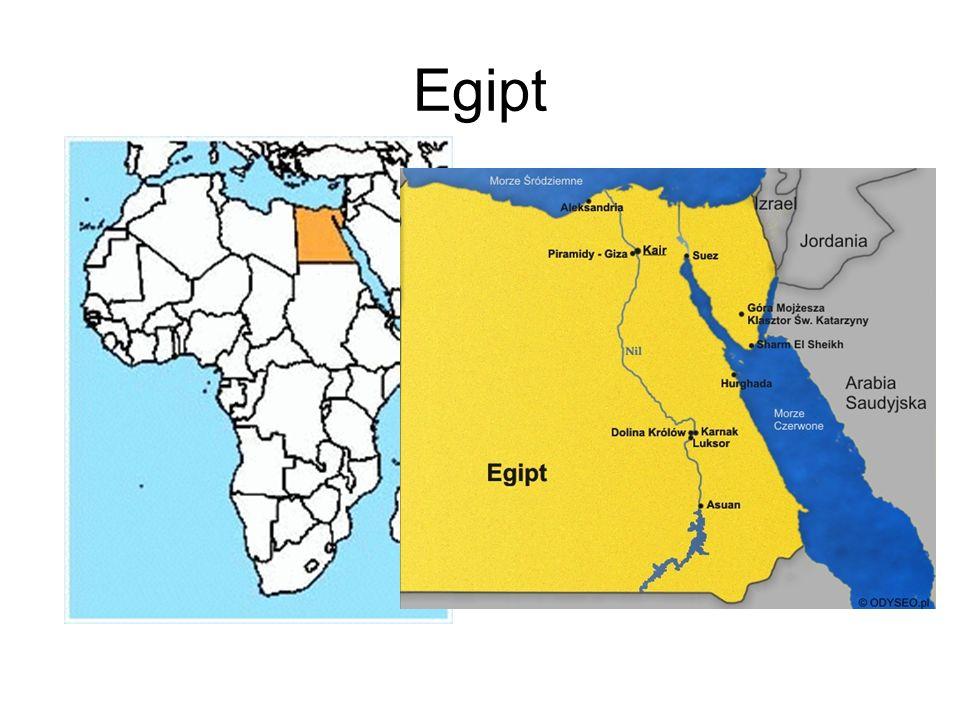 Flaga Egiptu Godło Egiptu