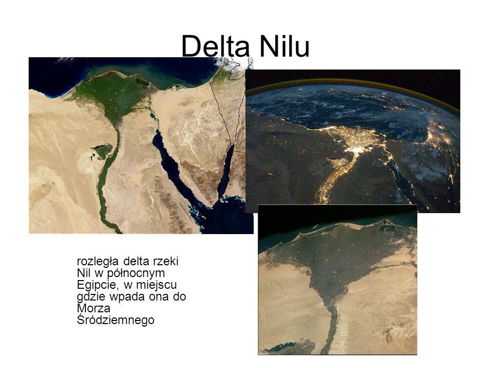 Delta Nilu rozległa delta rzeki Nil w północnym Egipcie, w miejscu gdzie wpada ona do Morza Śródziemnego