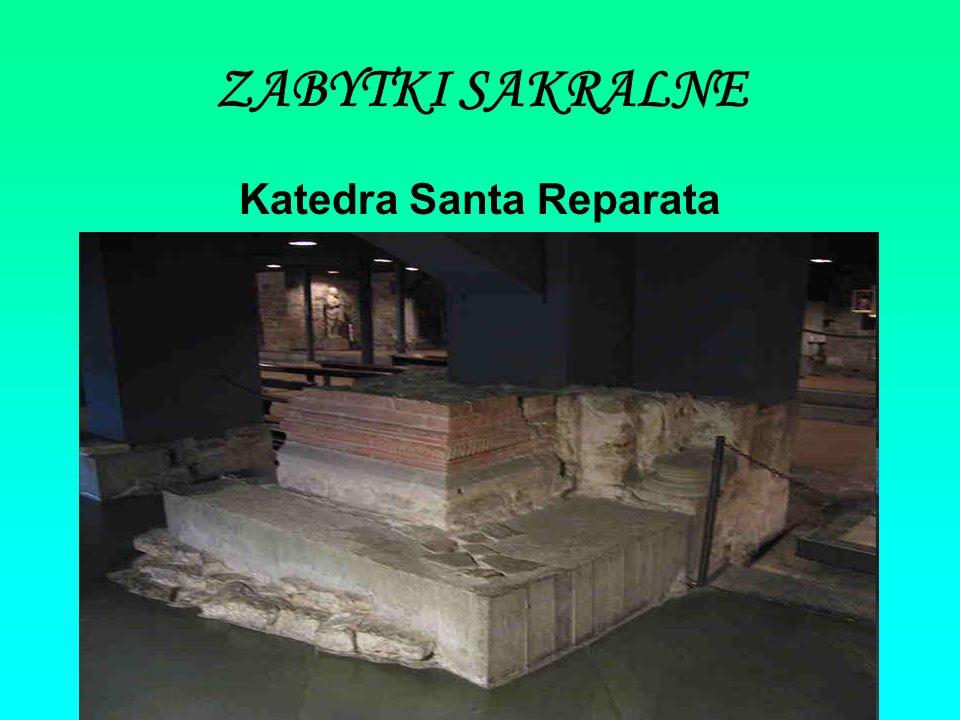 ZABYTKI SAKRALNE Katedra Santa Reparata