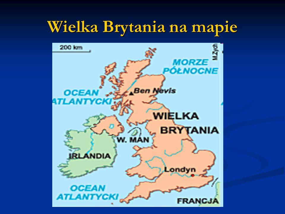Wielka Brytania na mapie