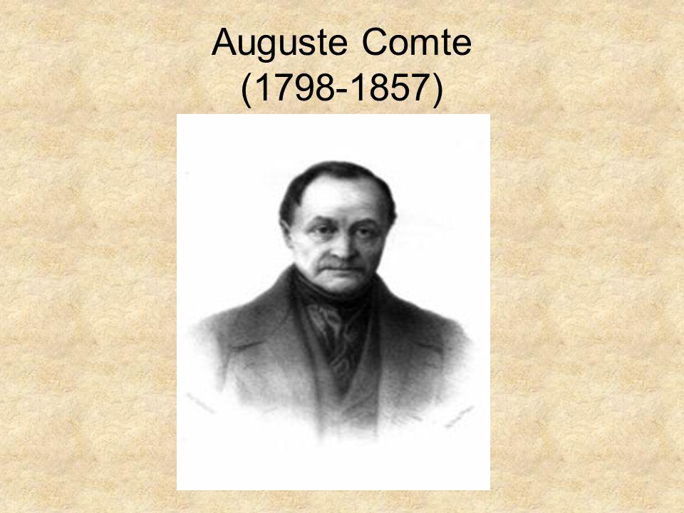 Francuski filozof i pozytywista, twórca socjologii; Po skończeniu szkoły średniej w rodzinnym Montpellier studiował na Politechnice Paryskiej.