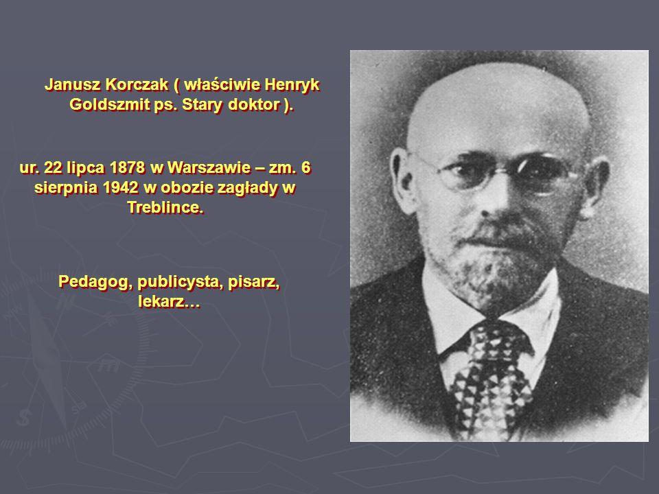 Janusz Korczak jako 10-letni chłopiec.Zdjęcie to zostało opublikowane w książce pt.