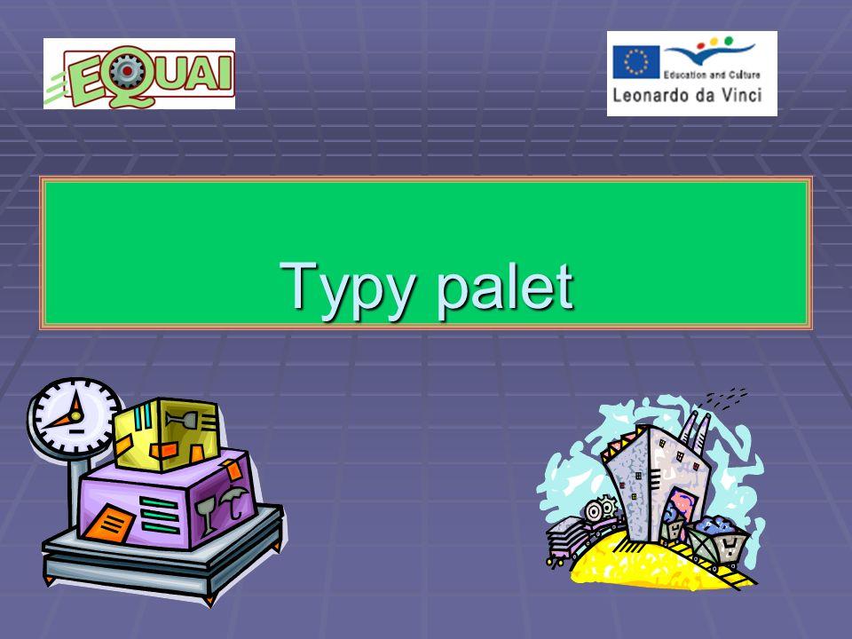 Paleta to płaska, najczęściej drewniana konstrukcja, służąca do transportu towarów.