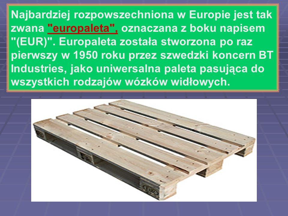 Dodatkowo stosuje się czasami tak zwane nadstawki paletowe , drewniane, szczelne obudowy, osłaniające z boków i z góry towar ułożony na palecie.