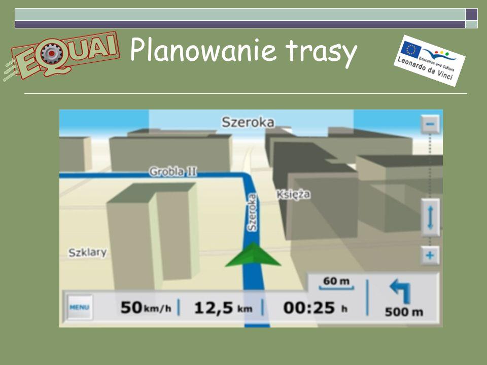 Planowanie trasy