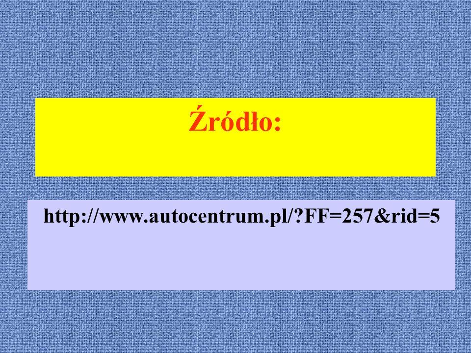 Źródło: http://www.autocentrum.pl/?FF=257&rid=5