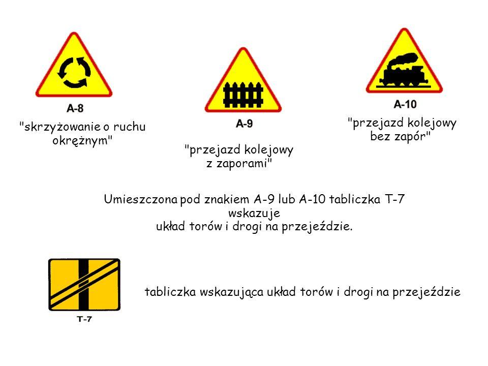 nierówna droga próg zwalniający Znak A-11a próg zwalniający ostrzega o wypukłości na jezdni, zastosowanej w celu spowolnienia ruchu pojazdów.