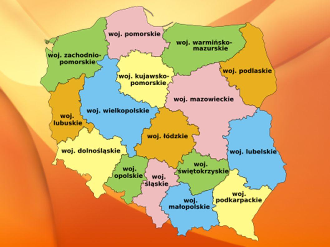 Każde województwo dzieli się na powiaty.