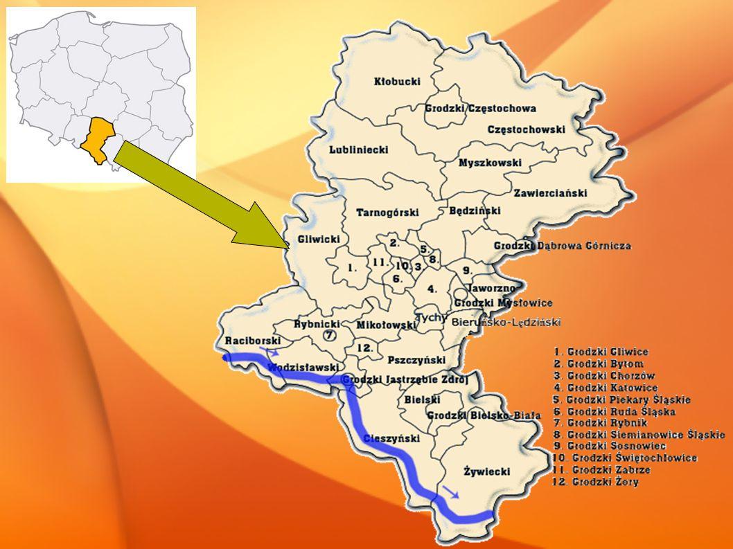 A każdy powiat dzieli się na gminy* *- wyjątkiem są tu powiaty grodzkie, inaczej zwane miastami na prawach powiatu (np.