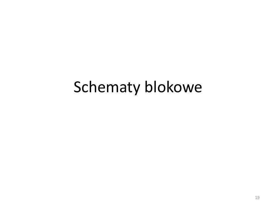 Schematy blokowe 19