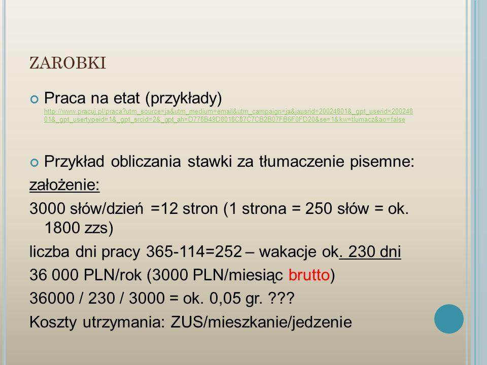 ZAROBKI Praca na etat (przykłady) http://www.pracuj.pl/praca?utm_source=ja&utm_medium=email&utm_campaign=ja&jausrid=20024801&_gpt_userid=200248 01&_gp