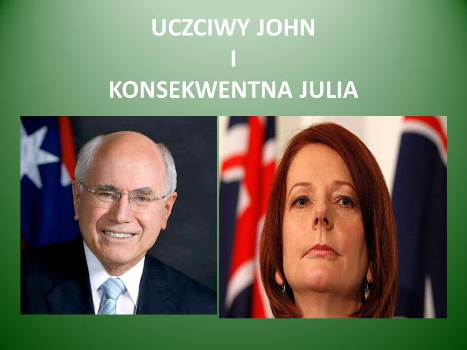 UCZCIWY JOHN I KONSEKWENTNA JULIA