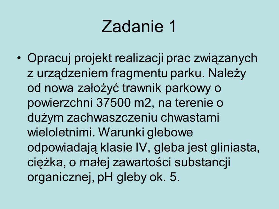 Zadanie 1 Projekt przewiduje wykonanie nawierzchni pieszo-jezdnej z brukowych kostek granitowych o wymiarach 12x12x12 cm.