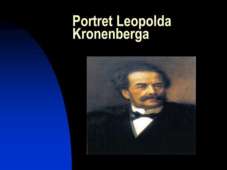 Kronenberg Leopold Kronenberg (ur. 1812, zm.