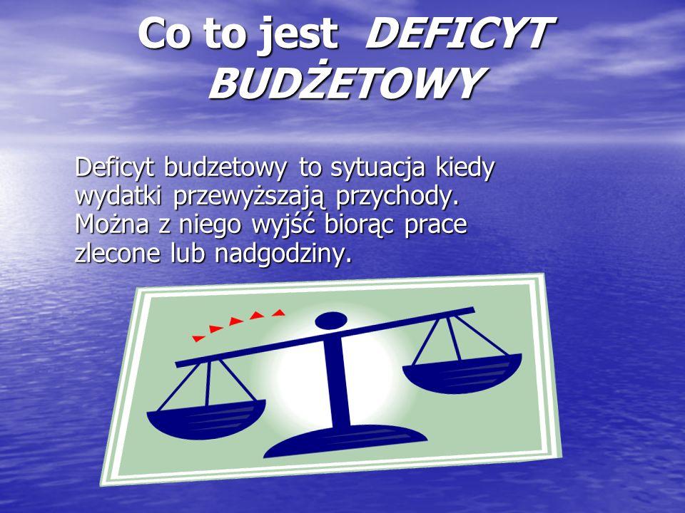 Nadwyżka Budżetowa- CO TO.Kiedy Dochody są wyższe od podatków.