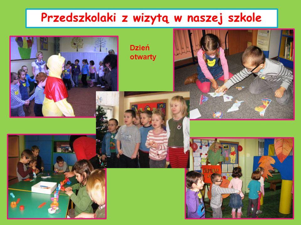 Przedszkolaki z wizytą w naszej szkole Dzień otwarty