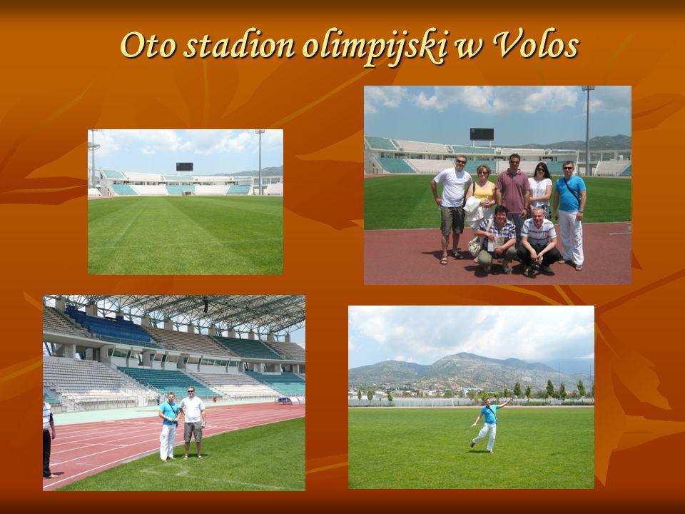 Oto stadion olimpijski w Volos
