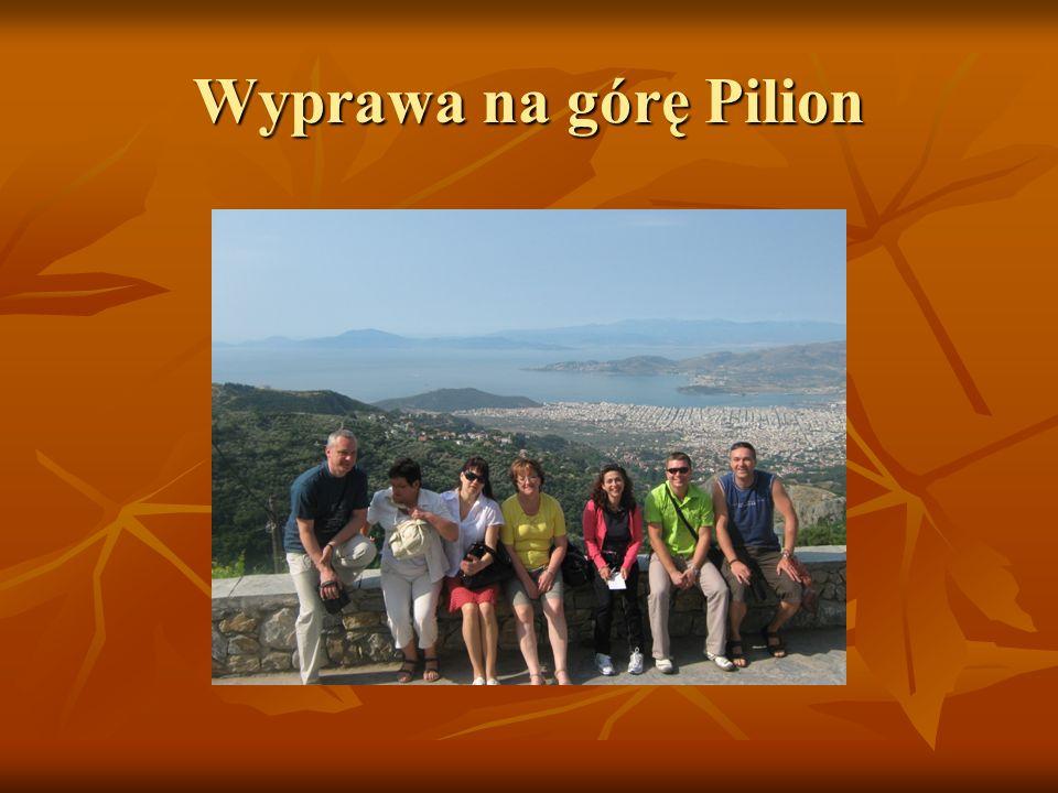 Wyprawa na górę Pilion