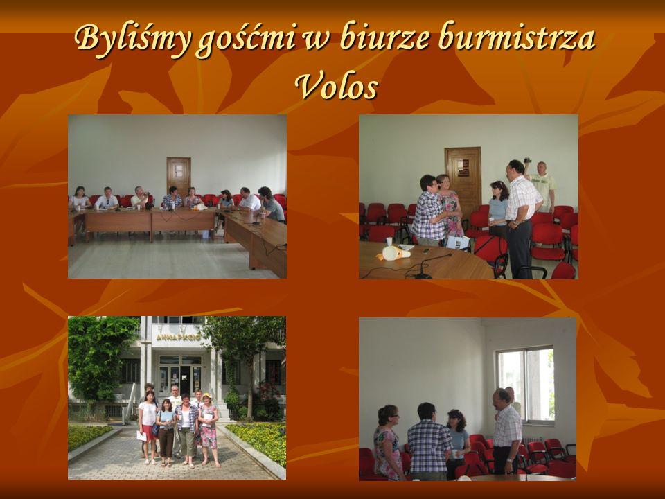 Byliśmy gośćmi w biurze burmistrza Volos