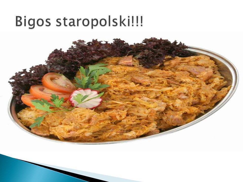 Najstarszą metodą obróbki cieplnej potraw z mięsa, drobiu i dzikiego ptactwa kuchni staropolskiej było pieczenie.