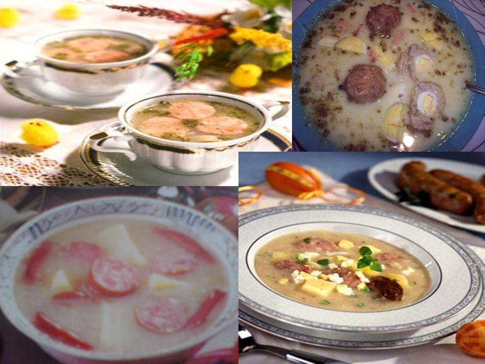 Potrawy z mąki były bardzo popularne.Sporządzane z niej kluski, łazanki, pierogi i naleśniki.