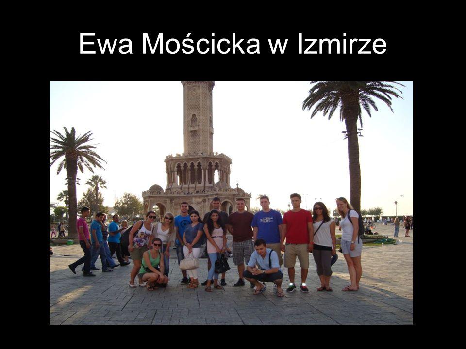Ewa Mościcka w Izmirze