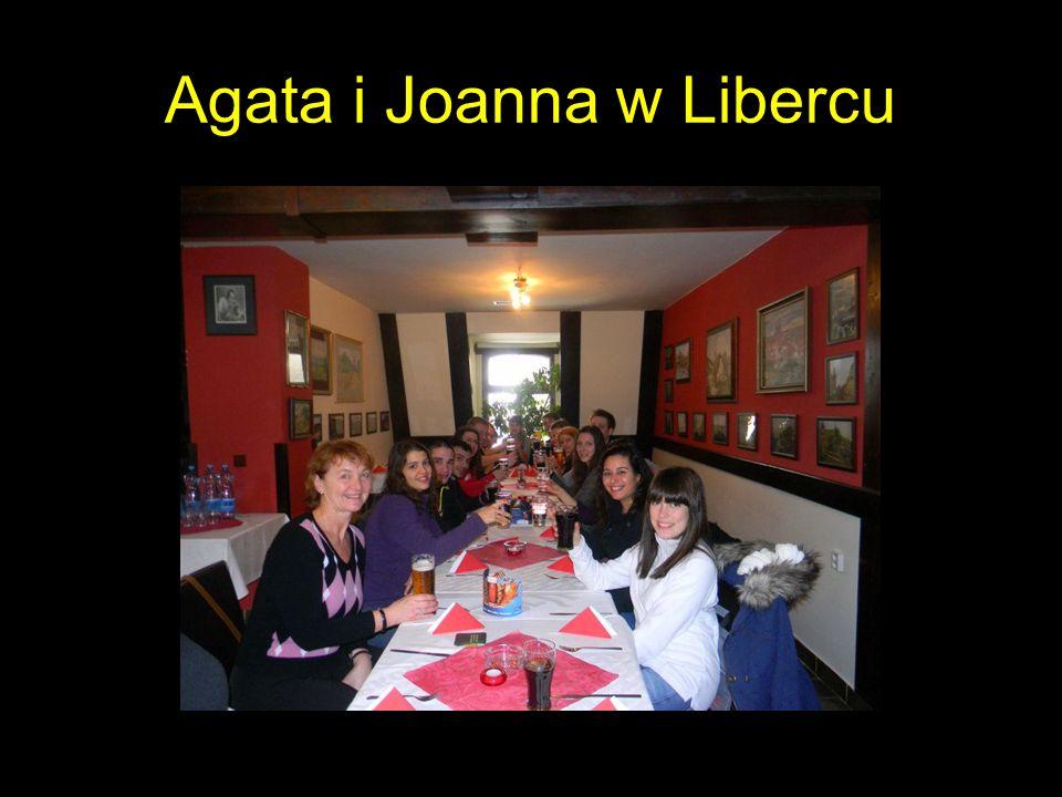Agata i Joanna w Libercu