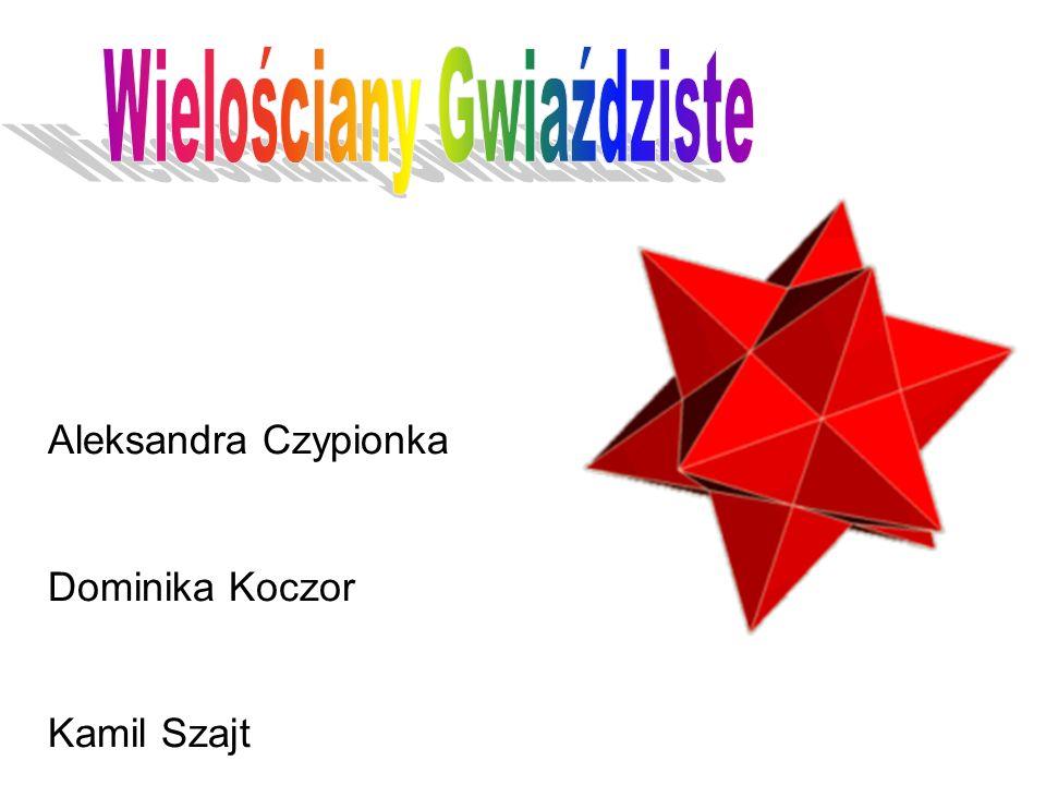 Wielościan gwiaździsty - rodzaj wielościanu zbudowanego z kilku innych wielościanów, o części centralnej wspólnej, zgodnie z budową dwuwymiarowych odpowiedników tj.