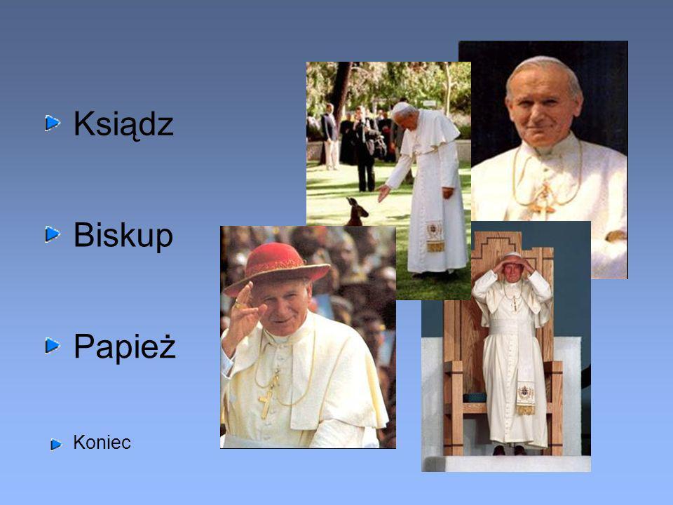 Ksiądz Biskup Papież Koniec