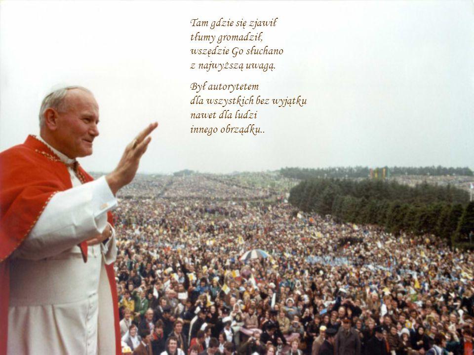 PROSTY – SKROMNY – WIELKI - MĄDRY Mieliśmy to szczęście żyć równolegle z naszym rodakiem Papieżem Polakiem.
