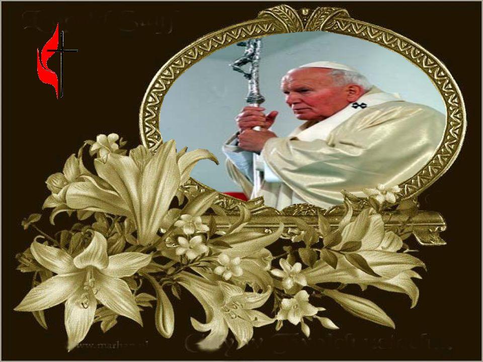 Wypełniła się wola Pana odszedł nasz Ojciec uciszcie myśli uciszcie kołaczące serca nie płaczcie On świety jest już w niebie modlitwa z ust niech wyfr