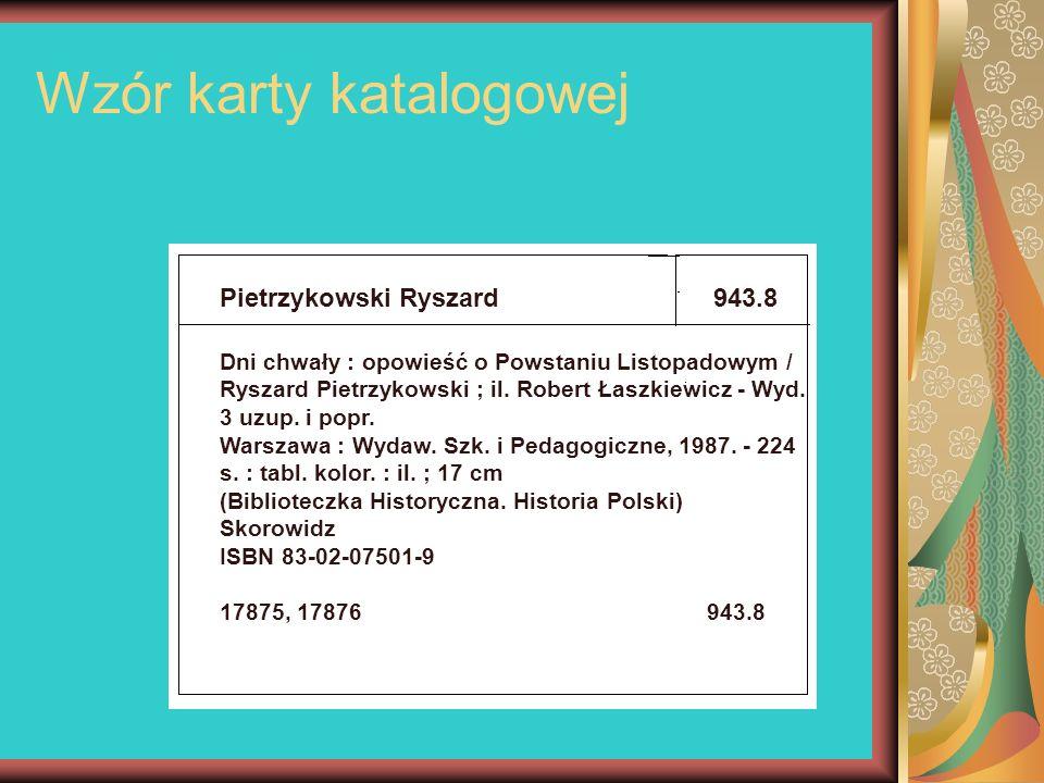 Wzór karty katalogowej Pietrzykowski Ryszard943.8 Dni chwały : opowieść o Powstaniu Listopadowym / Ryszard Pietrzykowski ; il. Robert Łaszkiewicz - Wy