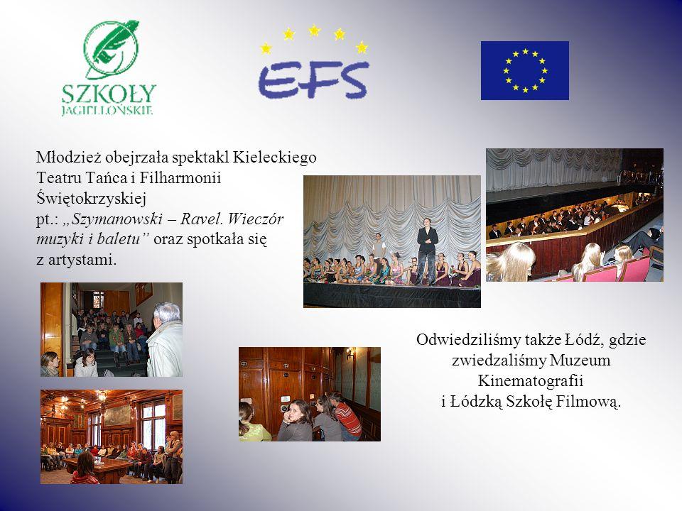 Młodzież obejrzała spektakl Kieleckiego Teatru Tańca i Filharmonii Świętokrzyskiej pt.: Szymanowski – Ravel. Wieczór muzyki i baletu oraz spotkała się