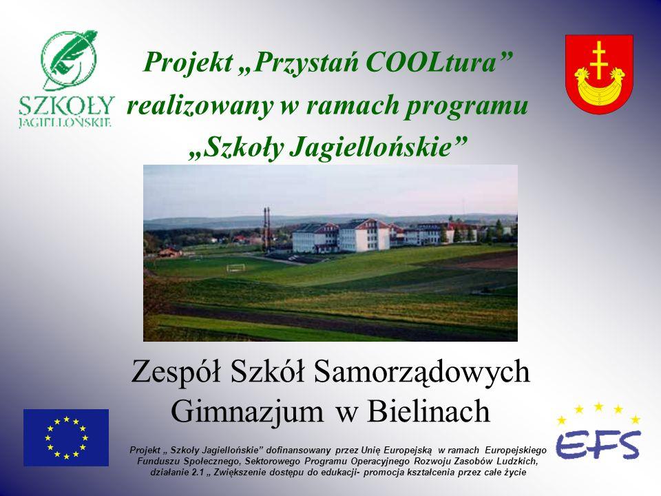 Gimnazjum w Bielinach przystąpiło do konkursu na projekt wyrównujący szanse edukacyjne dzieci z obszarów wiejskich.